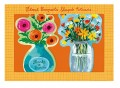floral bouquet notecards